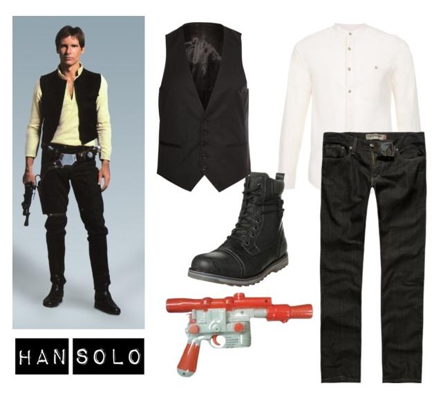 Simple Han Solo Cosplay