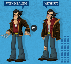What if Wolverine couldn'theal?